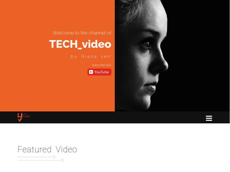 Youtuber-Bootstrap-Youtube-Marketer-Free-Template