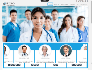 Free Joomla Template For Hospital