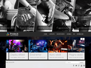 Free Joomla Template Music