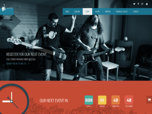 Evento - Free Music Event Bootstrap Template