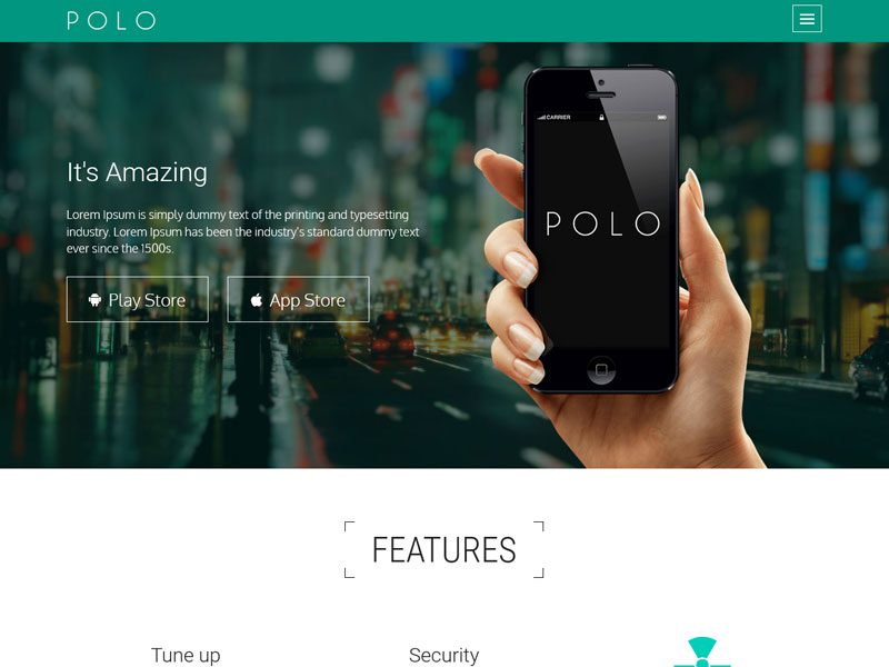POLO-App-Landing-Page-Template-With-Bootstrap