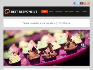 Best Responsive Free Drupal Business Theme
