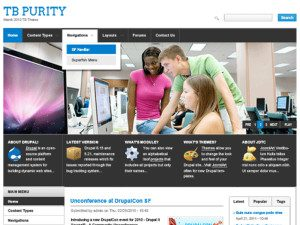 TB Purity Free Business Drupal Theme