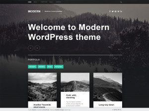 Modern Free Blog Wordpress Theme