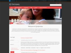 TheCompany Free Drupal Theme For Business