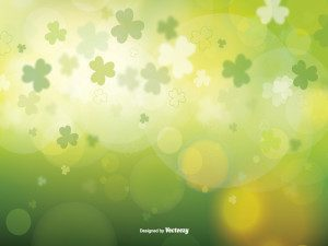St Patrick's Day Blurred Vector