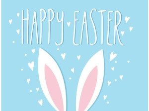 Easter Bunny Ears Free Vector