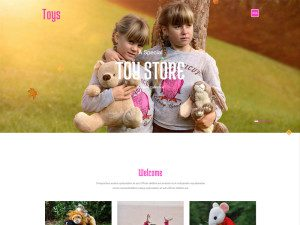 Toys Free Bootstrap Template For Game