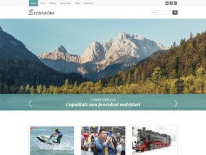 Excursion Free Bootstrap Template For Travel Agencies