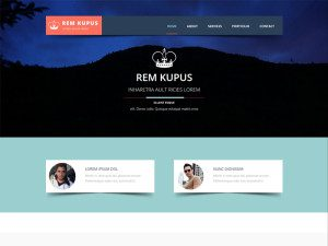 Rem Kupus Free Bootstrap Template For Agencies
