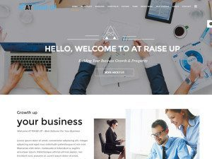 AT Raise Up Onepage Free Joomla Template For Corporation