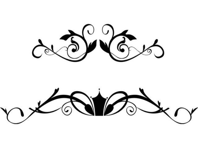 Floral Ornamental Border Free Vector