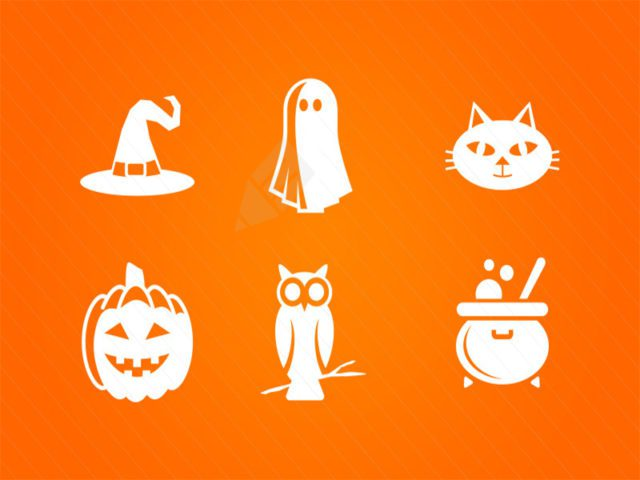 Halloween Vector Icons Free