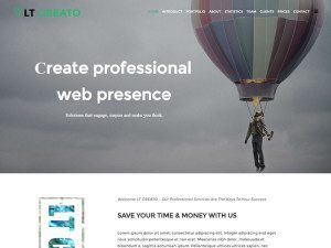 LT Creato Onepage Free Joomla Template For Design