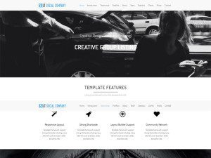 LT Social Company Onepage Free WordPress Theme For Social Company