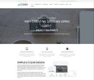 LT Stable Onepage Free WordPress Theme For Business