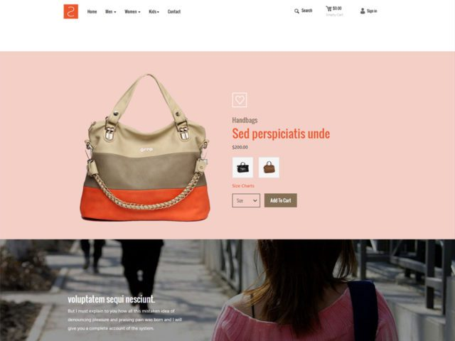ShopList Free Responsive Fashion Bootstrap Template