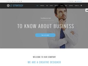 LT Strategy Onepage Free Joomla Template For Business