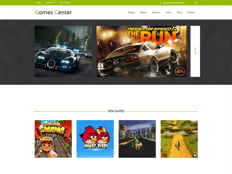 games center free bootstrap template for game freemium download. Black Bedroom Furniture Sets. Home Design Ideas