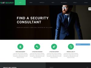 AT Secursy Free Responsive Security Services Joomla Template