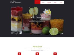 Cool Summer Free Responsive Hotel Bootstrap Template