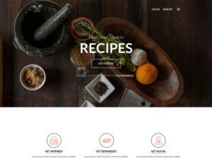 Fudi Free Bootstrap Template For Hotel
