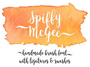 Spiffy McGee Free Font