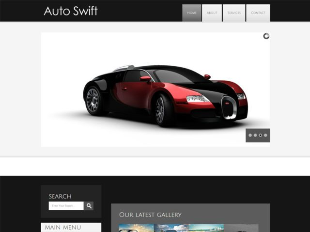 Auto Swift Free Responsive Car Bootstrap Template