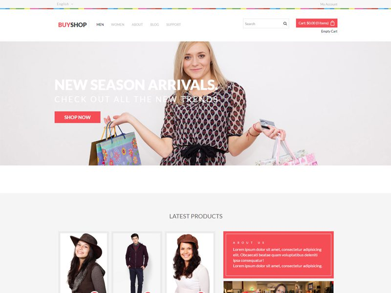 8 BEST FREE BOOTSTRAP TEMPLATES FOR FASHION IN JULY 2019