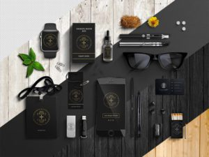 Corporate Style PSD Free Mockup