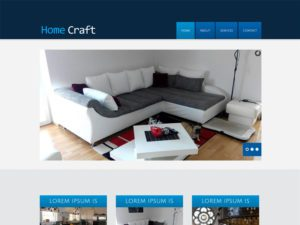 Home Craft Free Responsive Interior Bootstrap Template