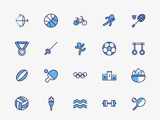 Olympic Sport Free Icons