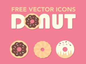 Donuts Free Icons