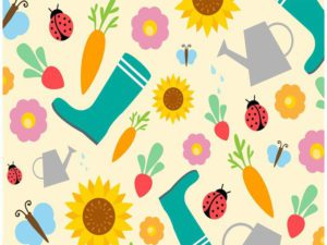 Springtime and Summertime Free Vector