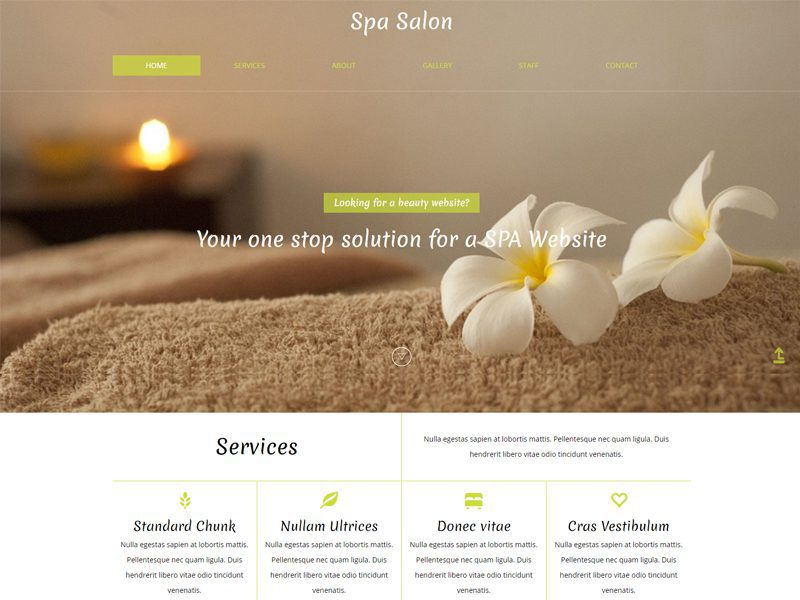 Bootstrap Spa Template