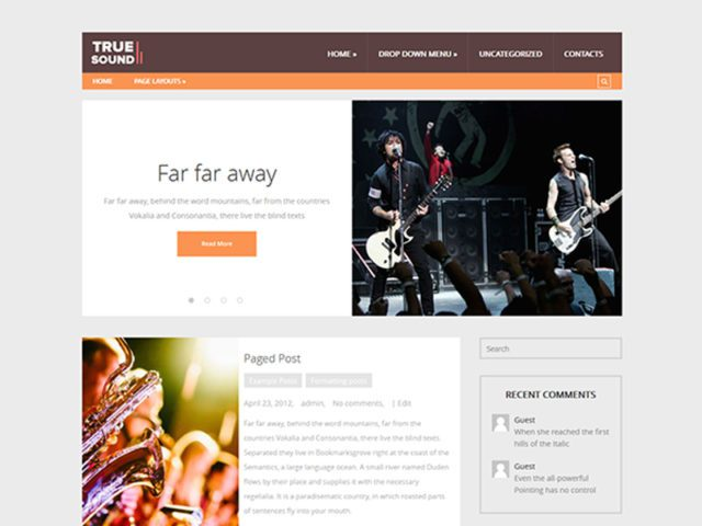 Free Art WordPress Theme