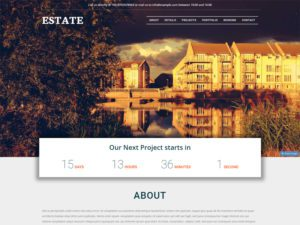 Free Real Estate Bootstrap Template