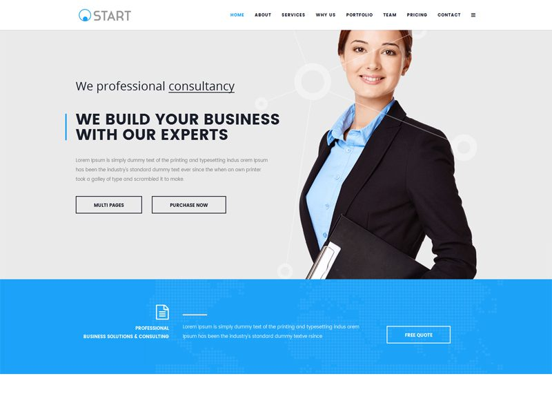 Start free joomla business template freemium download free joomla business template wajeb Gallery