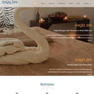 Angel Spa Bootstrap Beauty Template