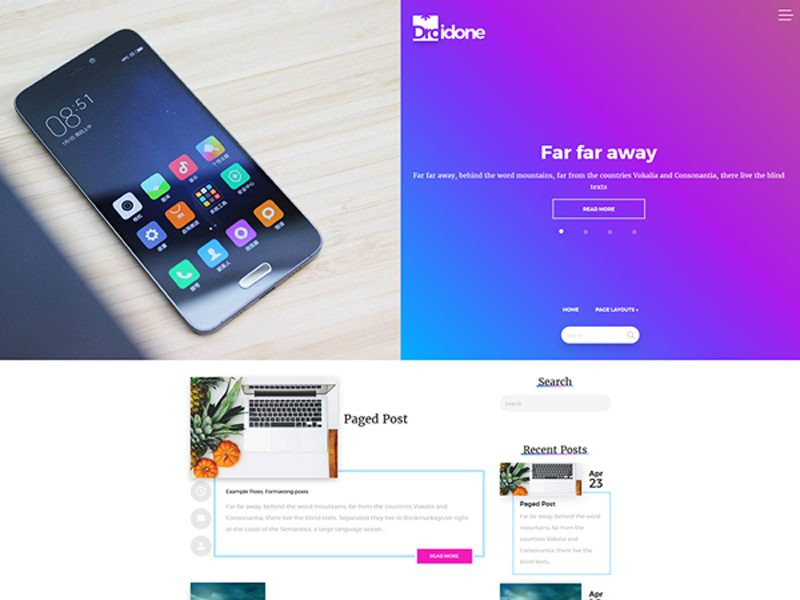 Free Technology WordPress Theme