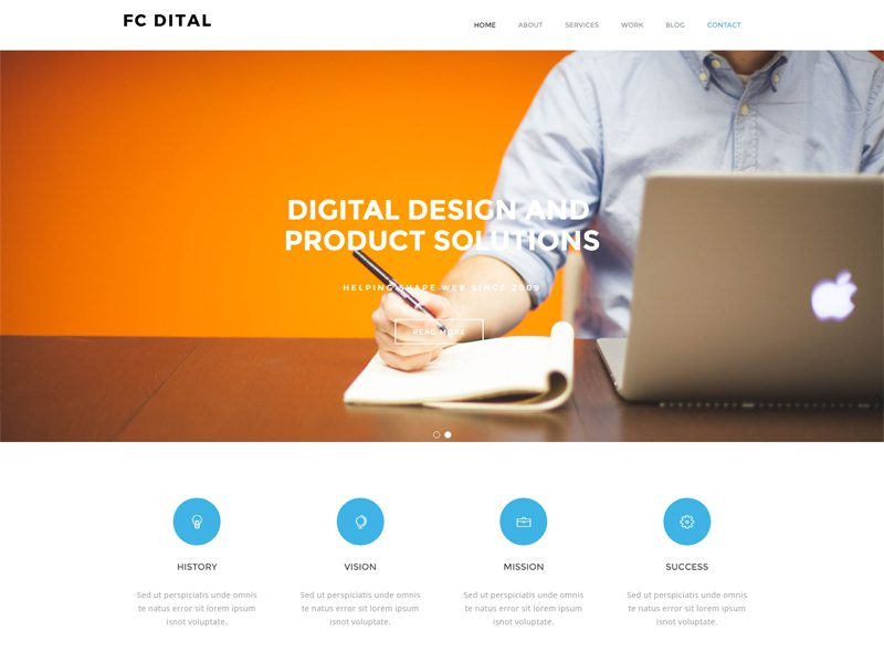 FC Dital Free Creative Design Template