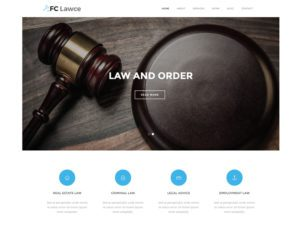 Free Lawyer Website Template