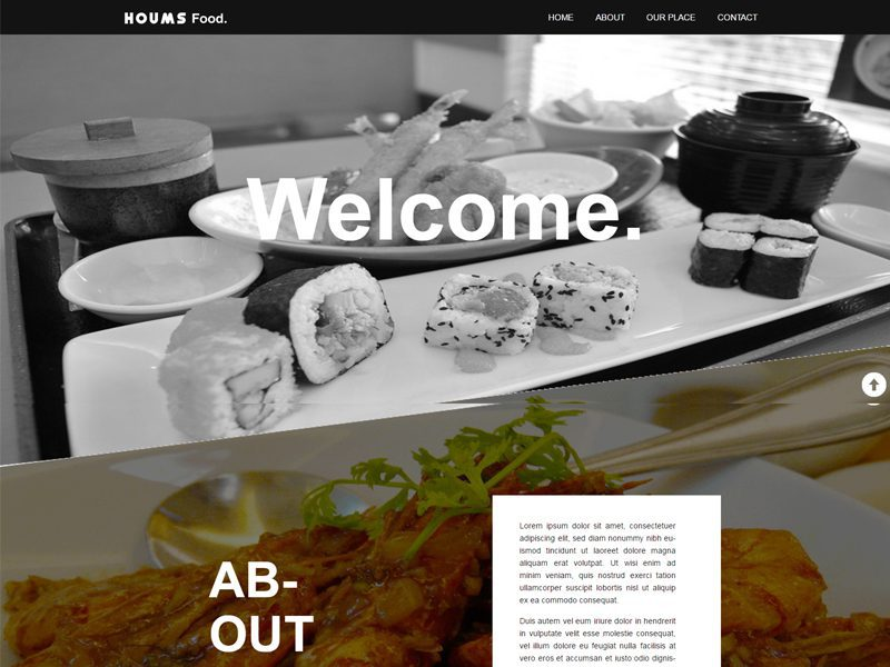 Food Free Bootstrap Restaurant Template