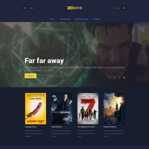 FunMovie WordPress Film Theme