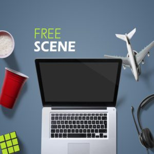 Games and Entertainment Free Mockup