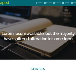 Heaped Bootstrap Business Template