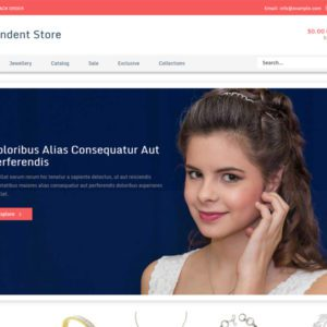 Pendent Store Bootstrap Jewellery Template