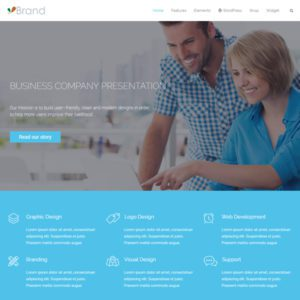 WT Brand Free WordPress Business Theme