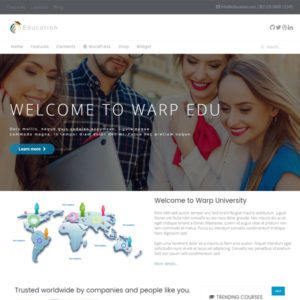 WT Education Free Education WordPress Theme