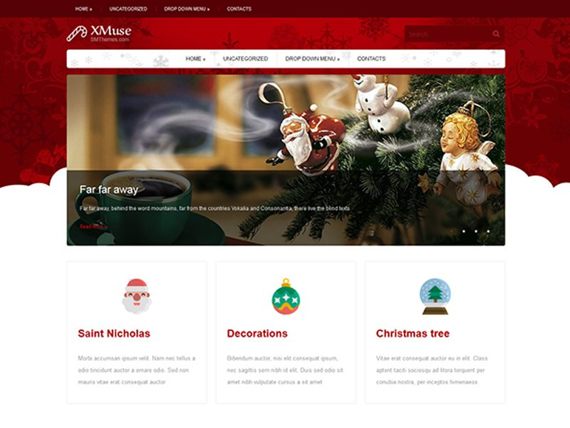 XMuse WordPress Holiday Theme